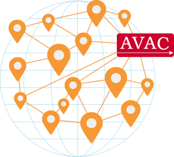 visual representation of AVAC networks
